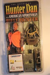 """Hunter Dan Sportsman 8"""" Figure (FACTORY SEALED)(VIEW OTHER ADS)"""