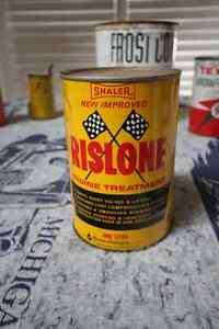 RISOLNE ENGINE OIL TREATMENT TIN CAN FULL