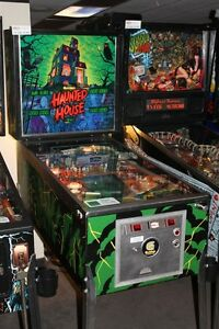 HAUNTED HOUSE PINBALL MACHINE GOTTLIEB ARCADE GAME RARE MAN CAVE
