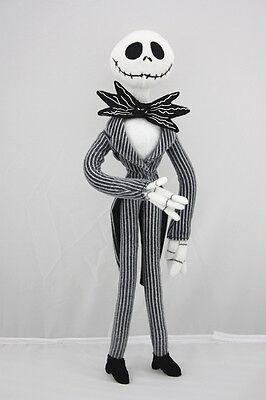 The Nightmare Before Christmas Jack Skellington Plush Doll Stuffed Toy Xmas Gift
