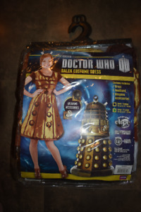 Brand New Doctor Who Tardis and Dalek Costumes
