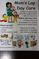Mom'Lap Day Care Is Eccepting regitration for janauary