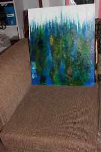 Peinture Tableau Painting Tableaux Abstract Abstraite by MILLA! West Island Greater Montréal image 10