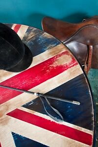 UNION JACK  ROUND  DINING  TABLE Kingston Kingston Area image 1