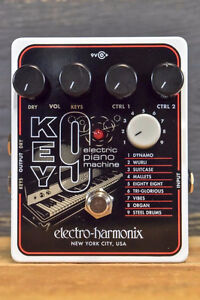 Electro-Harmonix KEY9 Electric Piano Machine Guitar Effect Pedal