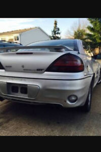 2003 PONTIAC GRAND  AM GT  RAM AIR.  $1300