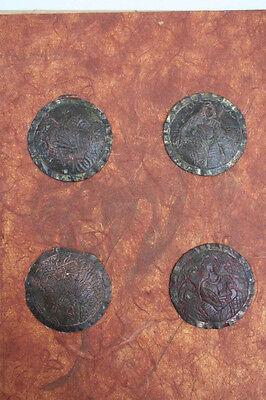 4 Buchbeschläge, Osteuropa, 12./13.Jahrhundert