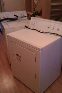 Dryer and Washer for Sale