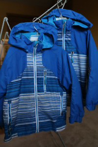 twin boys winter coat and snowsuit