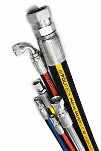 Hydraulic Hose, Fittings, Adapters, cylinders sold in bulk.