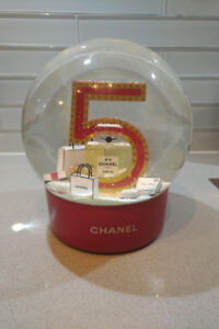 """Chanel #5"" Snow Globe - Limited Edition"