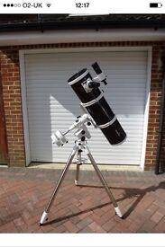 Skywatcher 200p non motorised EQ 5 mount