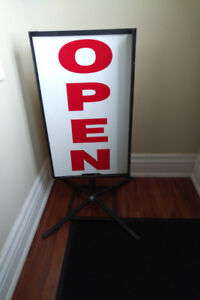 Business Sign- double sided