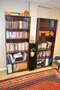 HUGE MOVING SALE - ASSORTED SHELVING BOOKCASES
