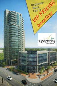 Symphony Condos. Starting from the 300's.