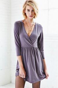 Kimchi Blue Surplice Fit + Flare Dress