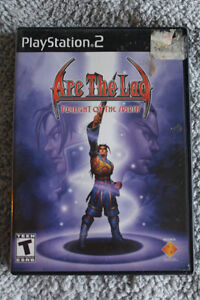 Arc The Lad - Twilight of the Spirits (PS2)
