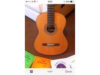 Guitar admira diana +case+songbooks