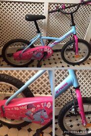 4y-6y old girl's bike decathlon