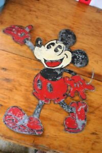 Mickey Mouse tin sign