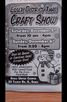 ESSEX DISTRICT XMAS Gift Show at ESSEX UNITED CHURCH