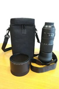 Sigma 150-600mm Nikon lens with Henry's 3 year 'help' warranty