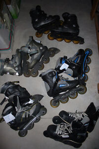 kids or adults roller blades