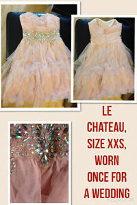 Le Chateau Dress, worn once