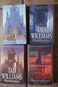 BOOK MS FANTASY ,BROOKS, GOODKIND, TAD WILLIAMS 6BOOKS