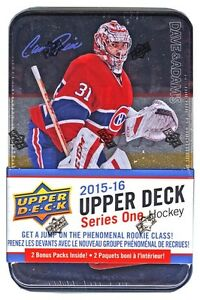 2015-16 Upper Deck Series One - Factory Sealed Tins plus BONUS!