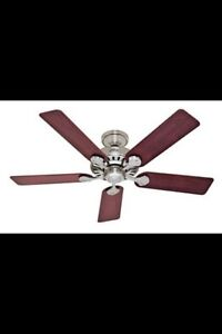 Hunter ceiling fan , without light kit Peterborough Peterborough Area image 1