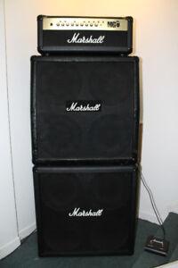 Marshall MG 100FX Full stack