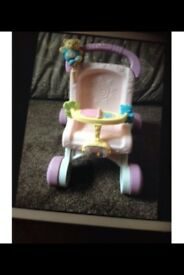 Baby walker / toy pushchair