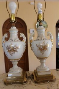 Magnifiques lampes de table Vintage – 300$ pour les deux