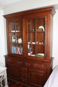 Buffet & Hutch - Solid Cherry - West Bros - Excellent Condition