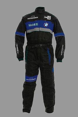 Neu Herren BMW AC SCHNITZER Fan Team Overall Arbeitskleidung Gesamt