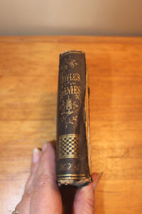 Old Hoyle's Game Book - 1845 London Ontario image 3