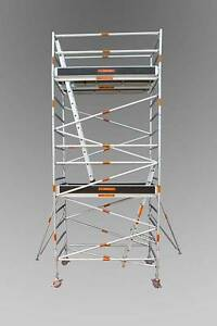 Synergy Scaffolding Aluminium – Dimensions: 1.3 X 2.5 X 5.6 Revesby Bankstown Area Preview
