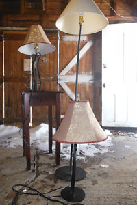 mower, lamps,