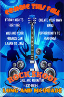 GROUP MUSIC LESSONS/ ROCK SKOOL