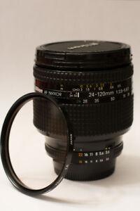 Nikon AF Nikkor 24-120mm f/3.5-5.6D