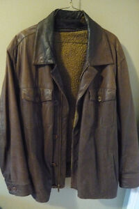 Timberland brown leather jacket with removable lining Peterborough Peterborough Area image 2
