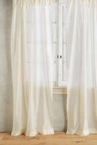 GORGEOUS ANTHROPOLOGIE CURTAINS NEW IN PACKAGING
