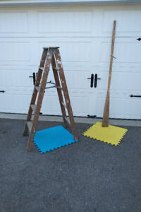 Boat Oar AND Wood Ladder * SEE EACH PRICE