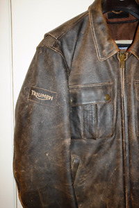 Triumph James Dean Special Edition leather Jacket $450 OBO