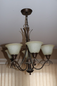 Chandelier style ceiling Light