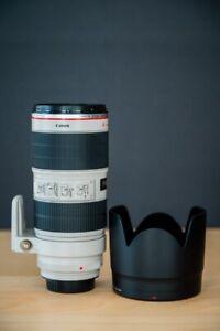 Lentille Canon EF 70-200mm f/2.8L IS II USM