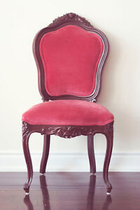 Antique Carved Wood Louis Dining Chairs (2 Free!)