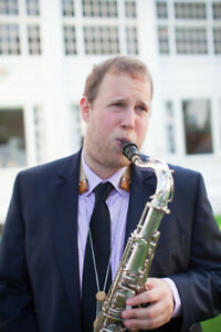 Popular Saxophone Player for your Wedding