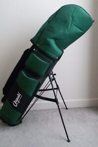 Golf set - clubs and bag with a cover.